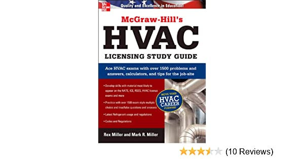 Mcgraw hills hvac licensing study guide rex miller mark r miller mcgraw hills hvac licensing study guide rex miller mark r miller ebook amazon fandeluxe Images