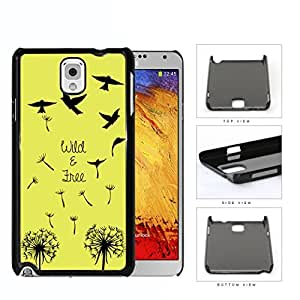 Wild And Free Flying Birds Hard Plastic Snap On Cell Phone Case Samsung Galaxy Note 3 III N9000 N9002 N9005