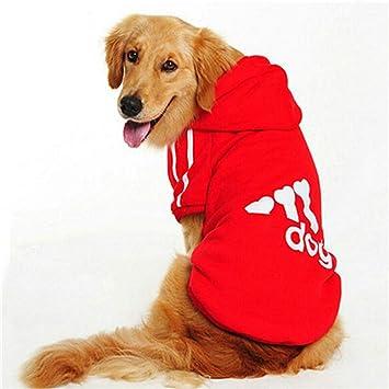TYJY Ropa para Perros Grandes Bulldog Ropa De Abrigo Pitbull ...