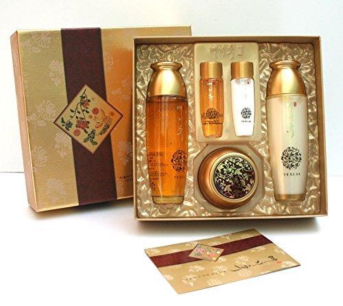 Yezihu Fermented Herbal Gold 3pcs Set/skin,emusion,whitening Cream/korean Made