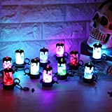 Halloween Decoration, 12 PCS Candle LED lights Party Supplies