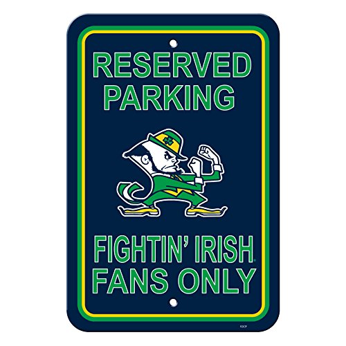 Notre Dame Fighting Irish Novelty Sign