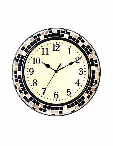 SUNQIAN-The living room wall clock mute, modern fashion watches, North European metal shell character bedroom wall clock by SUNQIAN