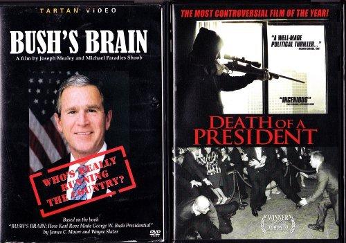 Death of a President , Bush's Brain : George Bush Movie 2 Pack