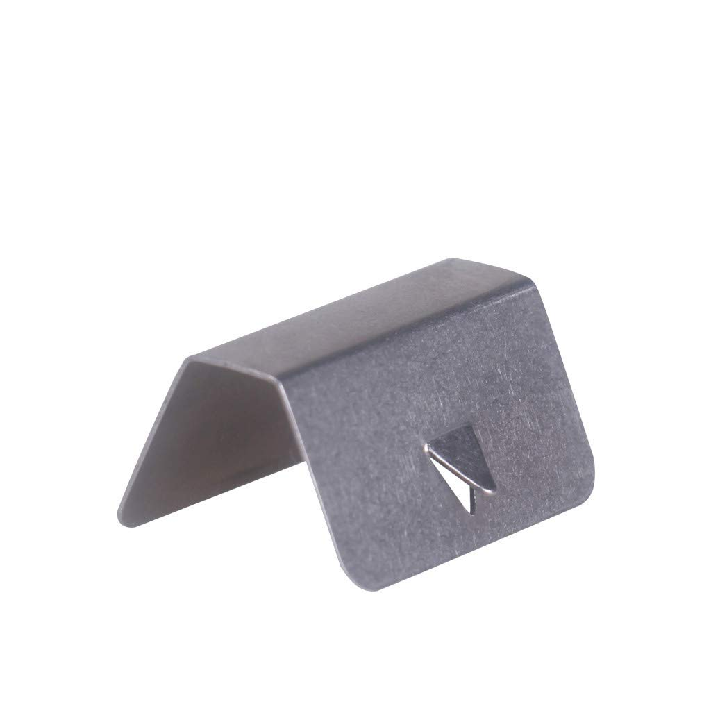 vmree 4PCS Car Wind Rain Deflector Fitting Clips Replacement for Heko G3 (Sliver) by vmree (Image #3)