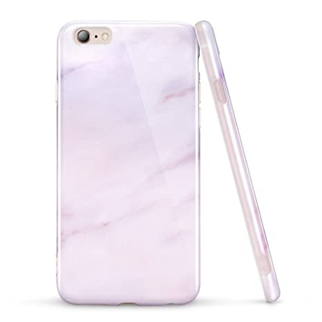 ESR Funda iPhone 6S Plus/iPhone 6 Plus Mármol -Rosa: Amazon ...