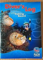 PADI Diver's Log Book w/ Training Record for Scuba Di