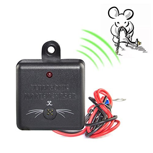 Under Hood Animal Repeller Car Rat Repeller, VENSMILE Fireproof Rodent Repeller for Car [Upgrade Version]