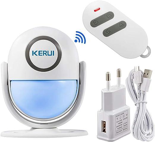 KERUI WP6 Sensor Alarma Casa WiFi Inalámbrico Control por APP ...