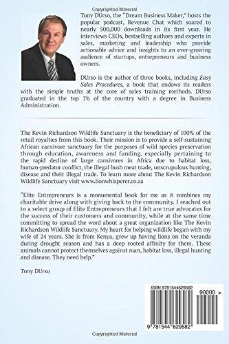 tony durso presents elite entrepreneurs