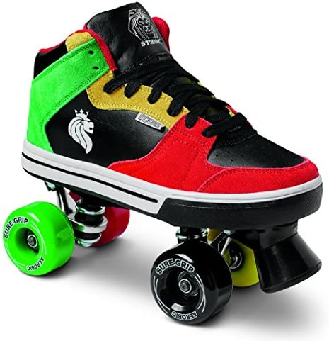 Sure-Grip Rasta Mid Top Roller Skates