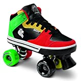 Sure-Grip Rasta Mid Top Shoe Roller Skates (13)