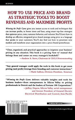 Winning the Profit Game: Smarter Pricing, Smarter Branding by McGraw-Hill Education (Image #1)