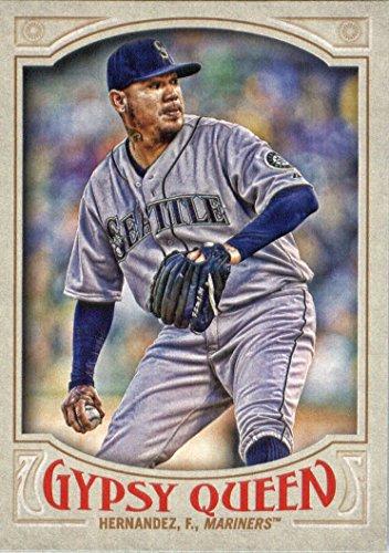 2016 Topps Gypsy Queen Baseball #150 Felix Hernandez Seattle Mariners (Seattle Mariners Photo Album)