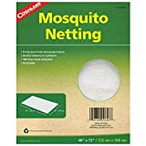 Useful indoors and out, Coghlan's Mosquito Netting is constructed of washable fine 180 holes per square inch mesh polyester. Coghlan's makes the outdoors more comfortable and enjoyable with over 500 accessories for camping, hiking, fishing, and RVing...