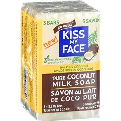 (Kiss My Face Bar Soap - Coconut Milk - 10.5 oz)