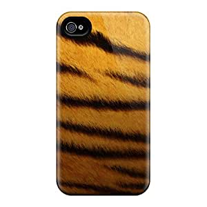 Awesome Tiger Skin Flip Cases With Fashion Design For Iphone 5/5s