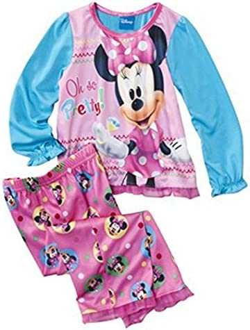 Minnie Mouse Little Girls Toddler Pajama Set
