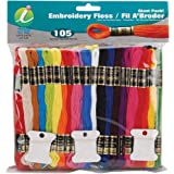 Iris 105-Pack Embroidery Giant Floss-Pack, 8m