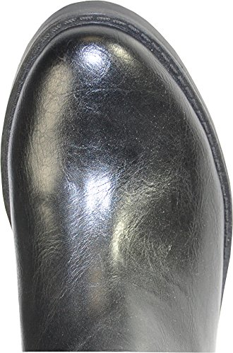 Kozi Kvinner Riding Boot Sd5512 Mote Kne-high Med Pels Fôr Svart 37m