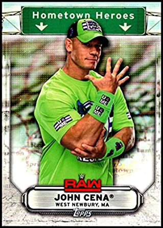 Amazoncom 2019 Wwe Topps Monday Night Raw Hometown Heroes