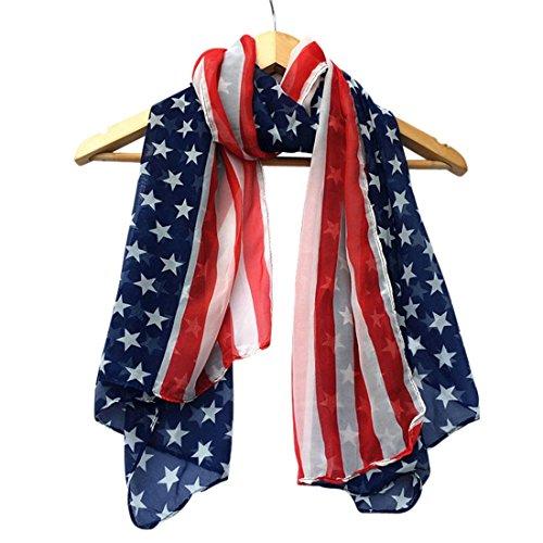 TAORE Fashion Chiffon American Scarf