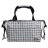 Damero Diaper Bag Handbag Purse Tote Insert Organizer(Sewn to The Bottom) with Stroller Straps
