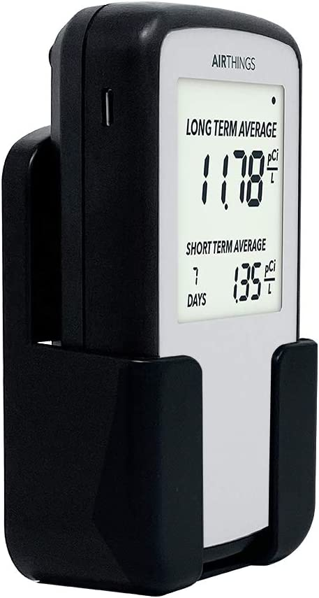 Multiple Purposes Case Holder for Corentium Home Radon Detector by Airthings, for Desktop and Wall-Mounted
