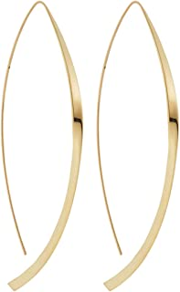 product image for Lana Jewelry- Magic Twist Arch Hoop Earring