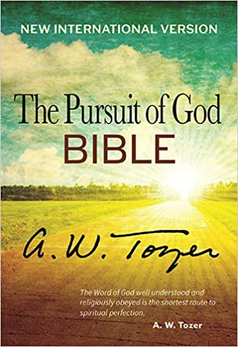 The Pursuit of God Bible: New International Version: A  W