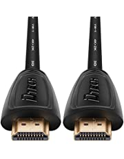 DTECH UHD HDMI Cable 1.5m 4K 60Hz, Male to Male Cord Support 1080p/2K at 120Hz