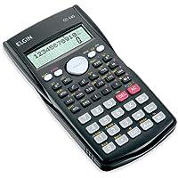 Calculadora Científica 240 funções Elgin, Elgin, 42CC24000000, Preta