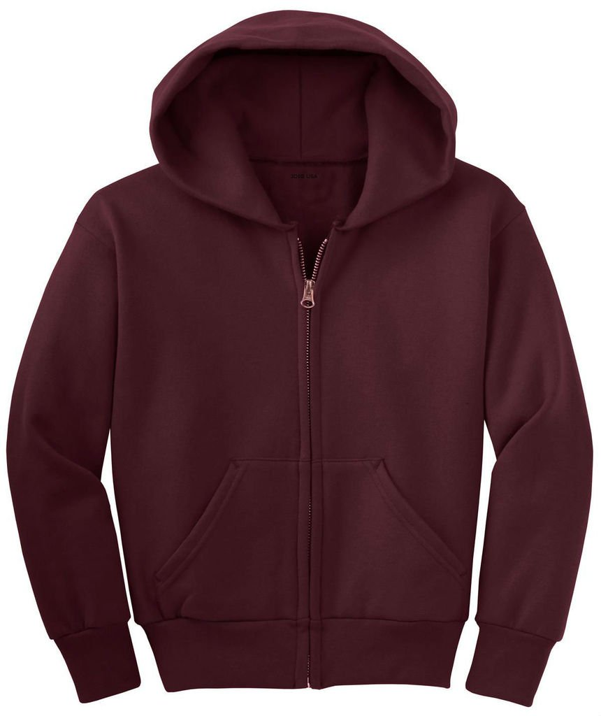 Joe's USA Youth Full-Zip Hooded Sweatshirts in 22 Colors USAL9081215537