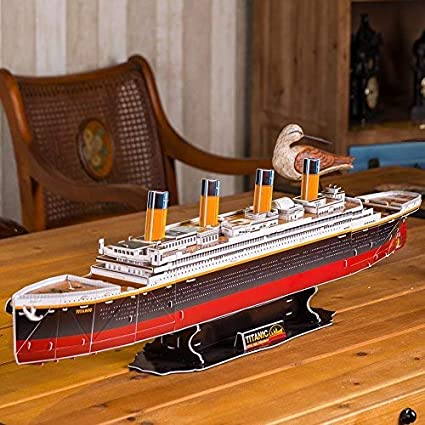 248 Pieces CubicFun T4017h The San Felipe Vessel Models 3D Puzzle