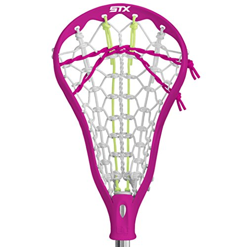 STX Lacrosse Lilly Complete Beginners Stick with Pink Head with Beginners AL6000 Lacrosse Shaft