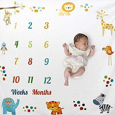 Set de 6 - Suaves toallas para cuidado infantil del beb/é o facial Blanco 25 x 25CM Tela de muselina suave Navaris Toallas de fibra de bamb/ú