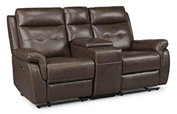 Fabulous Amazon Com Homestyles By Flexsteel Lux Leather Power Motion Caraccident5 Cool Chair Designs And Ideas Caraccident5Info