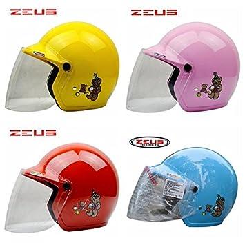 Poseidon niños conducción Riding mitad de protección casco para Zeus