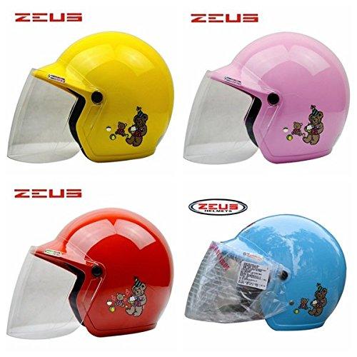 Amazon.es: Poseidon niños conducción Riding mitad de protección casco para Zeus