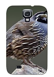 Storydnrmue Series Skin Case Cover Ikey Case For Galaxy S4(Animal Quail Bird Animal)