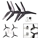 DJI Propeller,Carbon Fiber 9450 Propeller CW/CCW 3-Blade for DJI Phantom 4/4 Pro/4 Pro + by Dacawin (4pcs)