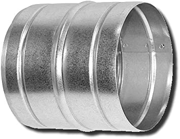 Verbinder Nippel /Ø 80 100 125 150 200 250 mm Wickelfalzrohre Alu-Flex-Rohr 200 mm