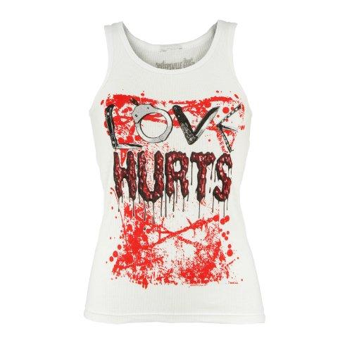 Kreepsville 666 - Camiseta de tirantes - para mujer blanco