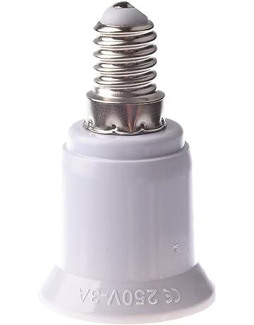 TOOGOO(R)E14-E27 LED Luz Lampara Tornillo Bombilla Enchufe Adaptador Convertidor
