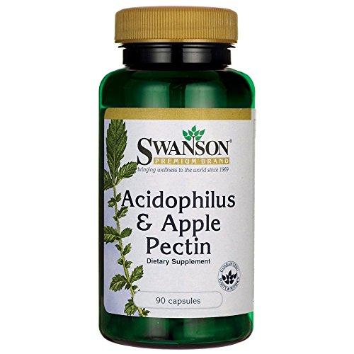- Swanson Acidophilus & Apple Pectin 90 Capsules