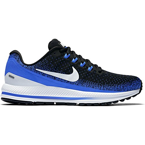 NIKE Men's Air Zoom Vomero 13 Running Shoe Black/Blue Tint-Racer Blue 11.0 ()