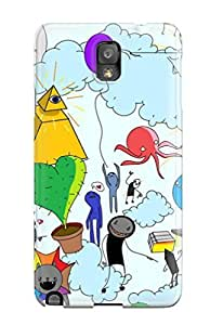 New Shockproof Protection Case Cover For Galaxy Note 3/ Adventure Time Case Cover
