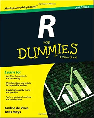 R For Dummies, 2nd Edition: Amazon co uk: Andrie de Vries