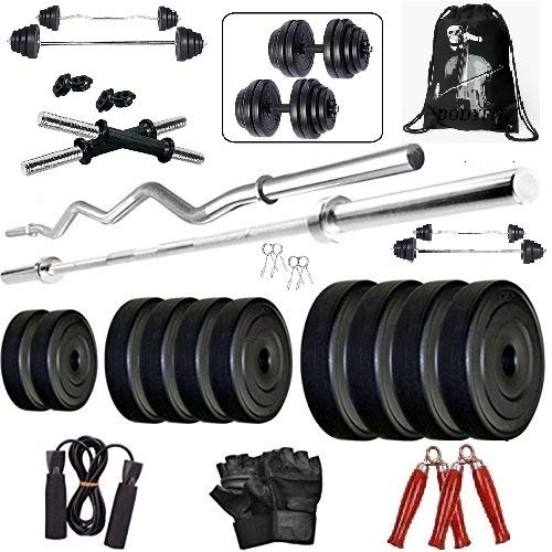 Bodyfit Exercise Sets Combo Home Gym Set Kit