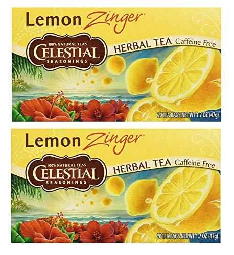 Celestial Seasonings SYNCHKG066353 upc Herbal Tea, Lemon Zinger, (2 Pack)